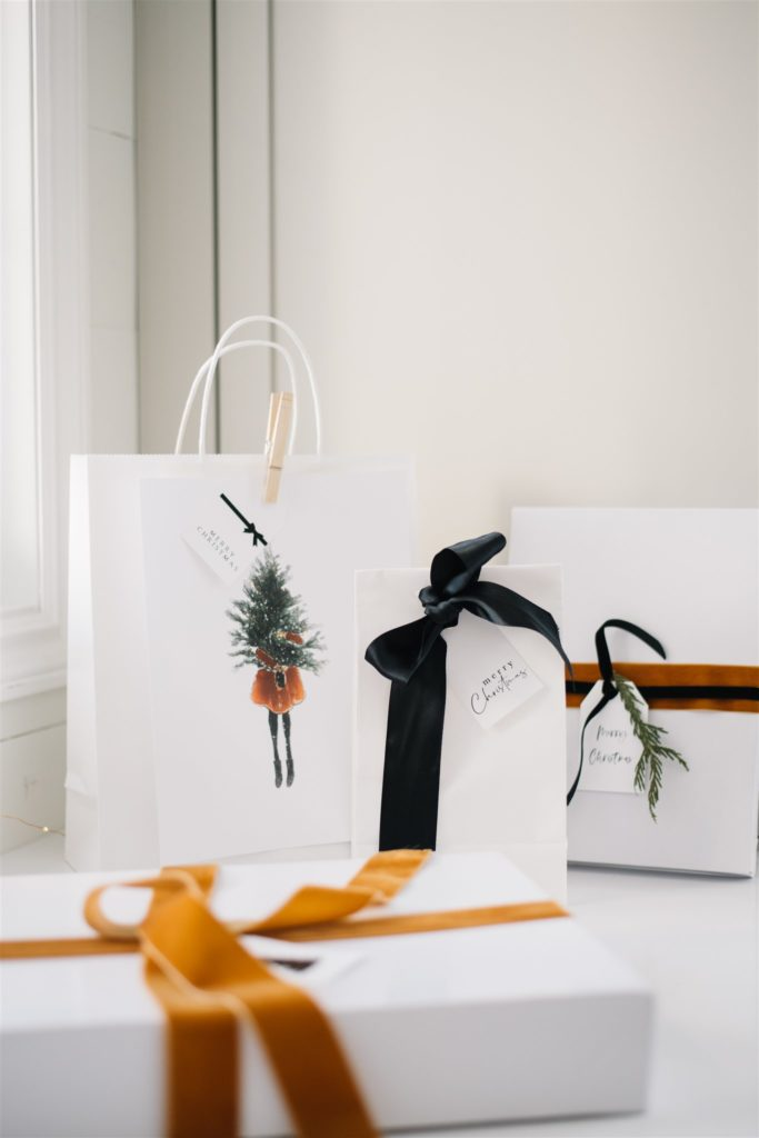Use reusable boxes and bags instead of wrapping paper