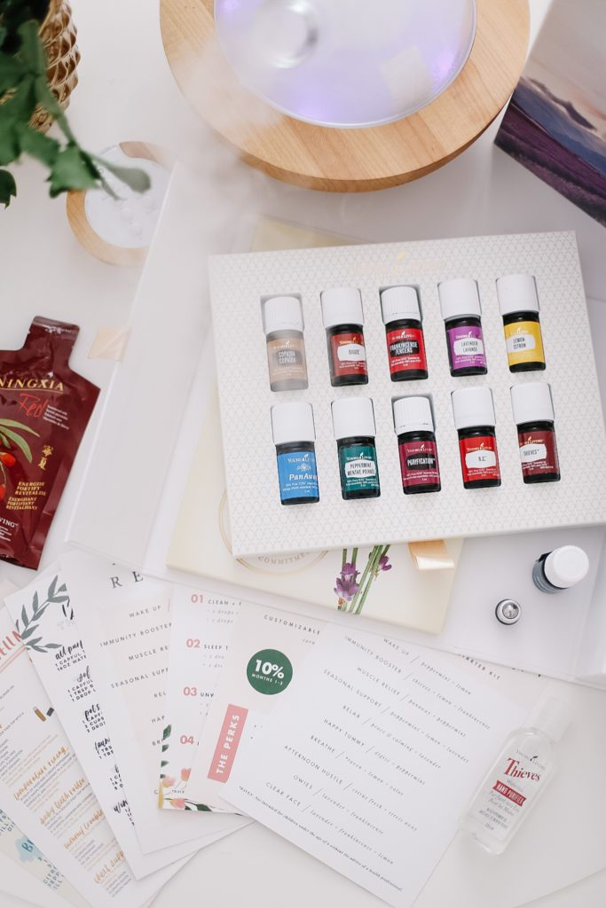 Young Living starter kit of essential oils