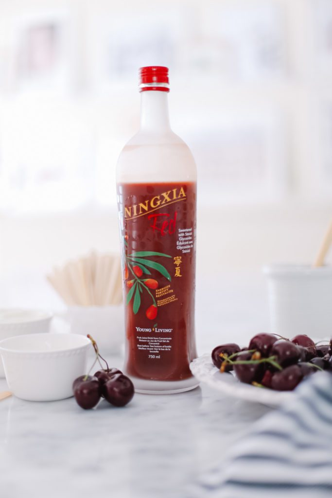 A bottle of Ningxia Red