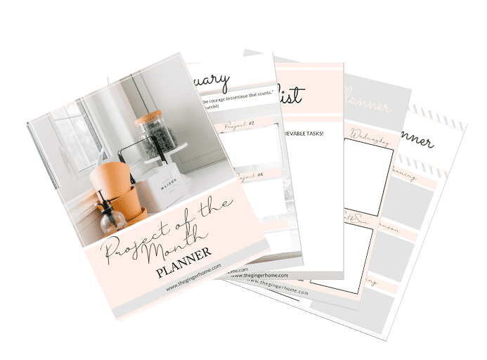 project of the month workbook