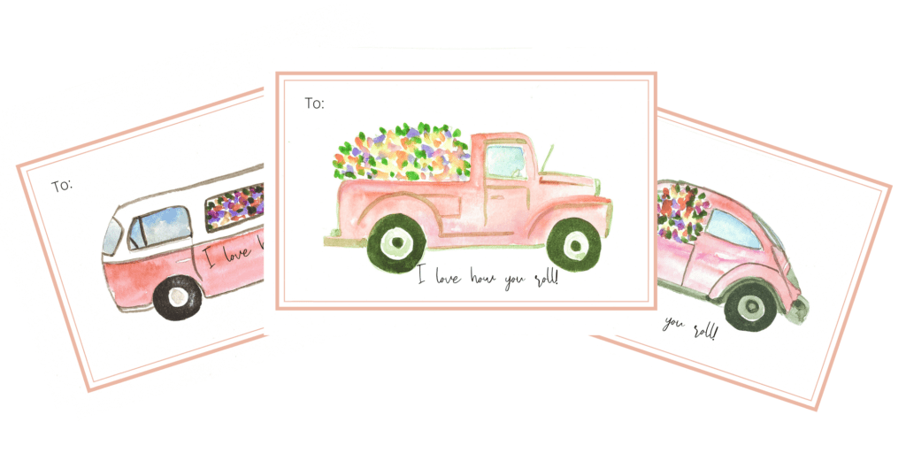 Free printable Valentine\'s Day Cards