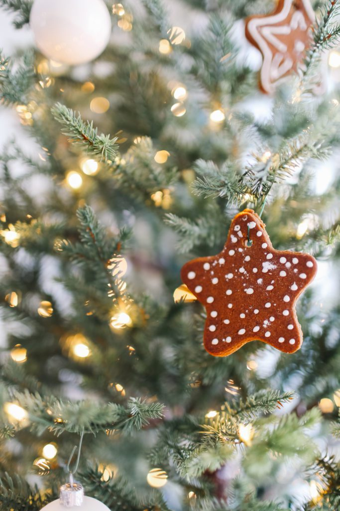 Gingerbread cookie ornament