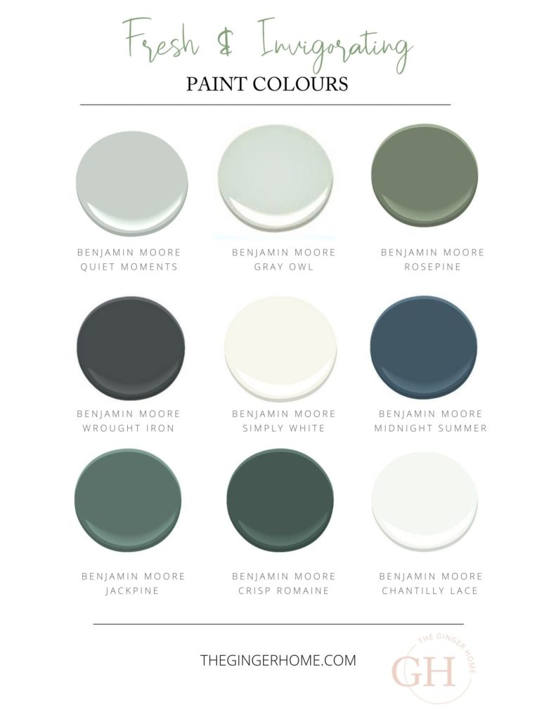 moody paint colours