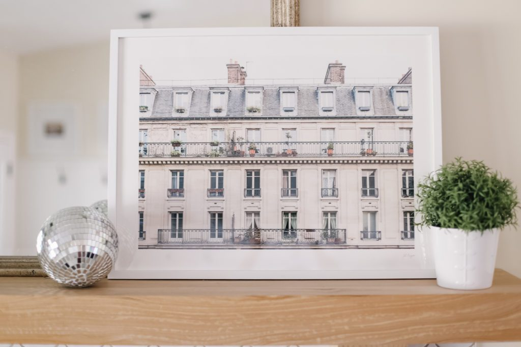 A picture of a French building