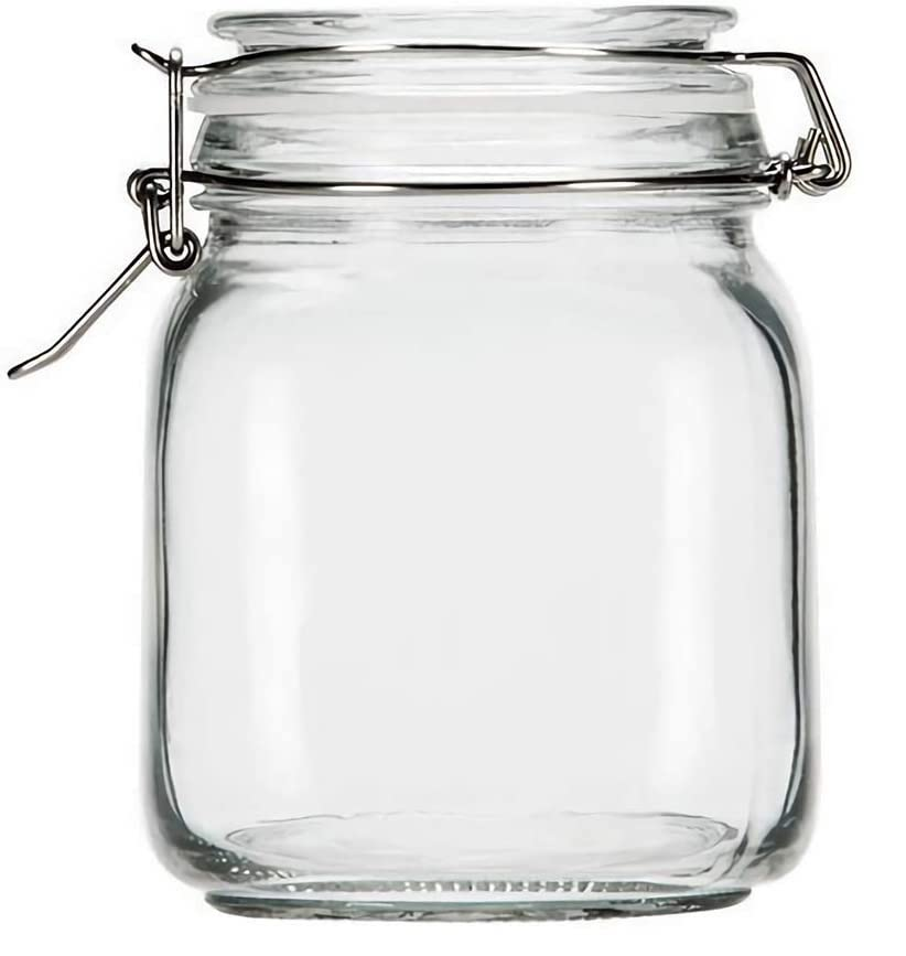 A glass jar is a perfect pantry organization essential
